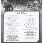 Song Lyrics Let It Go