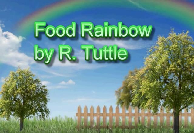 Food Rainbow Screen Shot